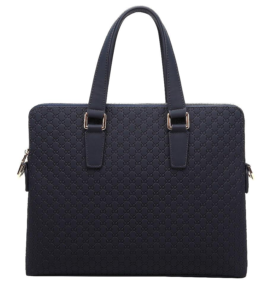 通路未亡人制限されたビジネスバッグ メンズ 本革 A4 2way ブラック ブルー