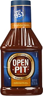 Open Pit Barbecue Sauce, Original, 18 Ounce
