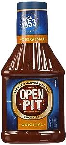 Open Pit Blue Label Original Barbecue Sauce, 18 oz.