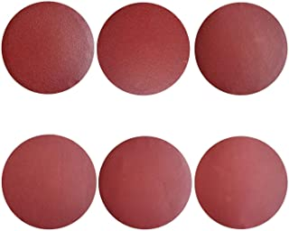 Sackorange 18 PCS 10-inch No-Hole PSA Aluminum Oxide Sanding Disc, Self Stick(3 Each of 80 100 120 180 240 400)