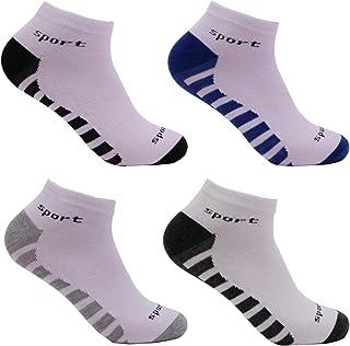 L&K, II Pack de 12 Calcetines de deporte Sneaker Cortos para hombre unisex 92204