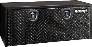 Buyers Products Black Steel Underbody Truck Box w/ Aluminum Door (18X18X48 Inch)
