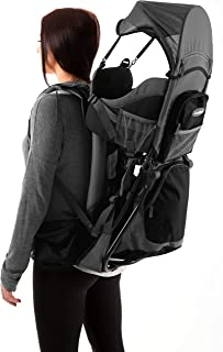 Luvdbaby Premium Baby Backpack Carrier for Hiking with Kids - Carry Your Child Ergonomically