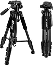 ZOMEI Compact Light Weight Travel Portable Aluminum Camera Tripod for Canon Nikon Sony..