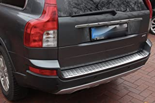phil trade stainless steel matt boot sill protector compatible with Fiat Panda 312//319 from 2012 with folded edges.