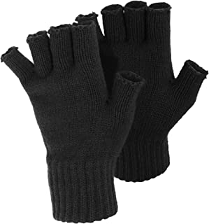 FLOSO Ladies/Womens Winter Fingerless Gloves