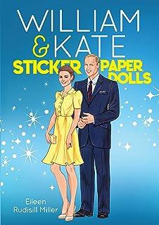 William & Kate Sticker Paper Dolls
