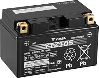 Yuasa YTZ10S Factory Activated Maintenance Free Battery