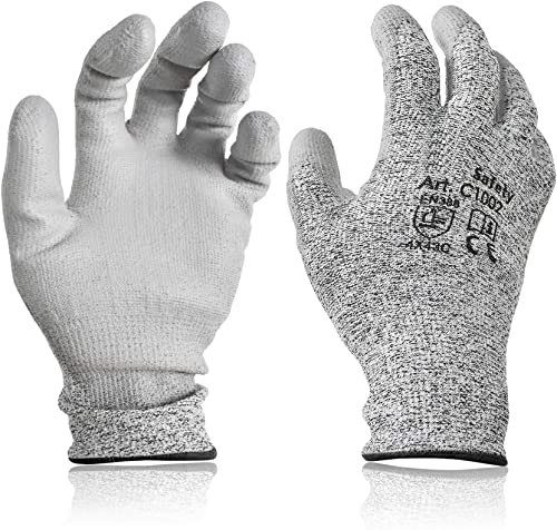 wholesale labworkauto Industrial Grade Safety Work Gloves Cut sale Resistant PU Coated High 2021 Performance Level 5 Protection for Men and Women outlet sale