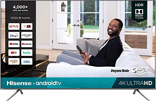 Hisense 85-Inch 4K Ultra HD Android Smart TV with Alexa Compatibility (85H6570G 2020 Model)