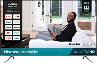 Hisense 85H6570G 85-Inch 4K Ultra HD Android Smart TV with Alexa Compatibility (2020)
