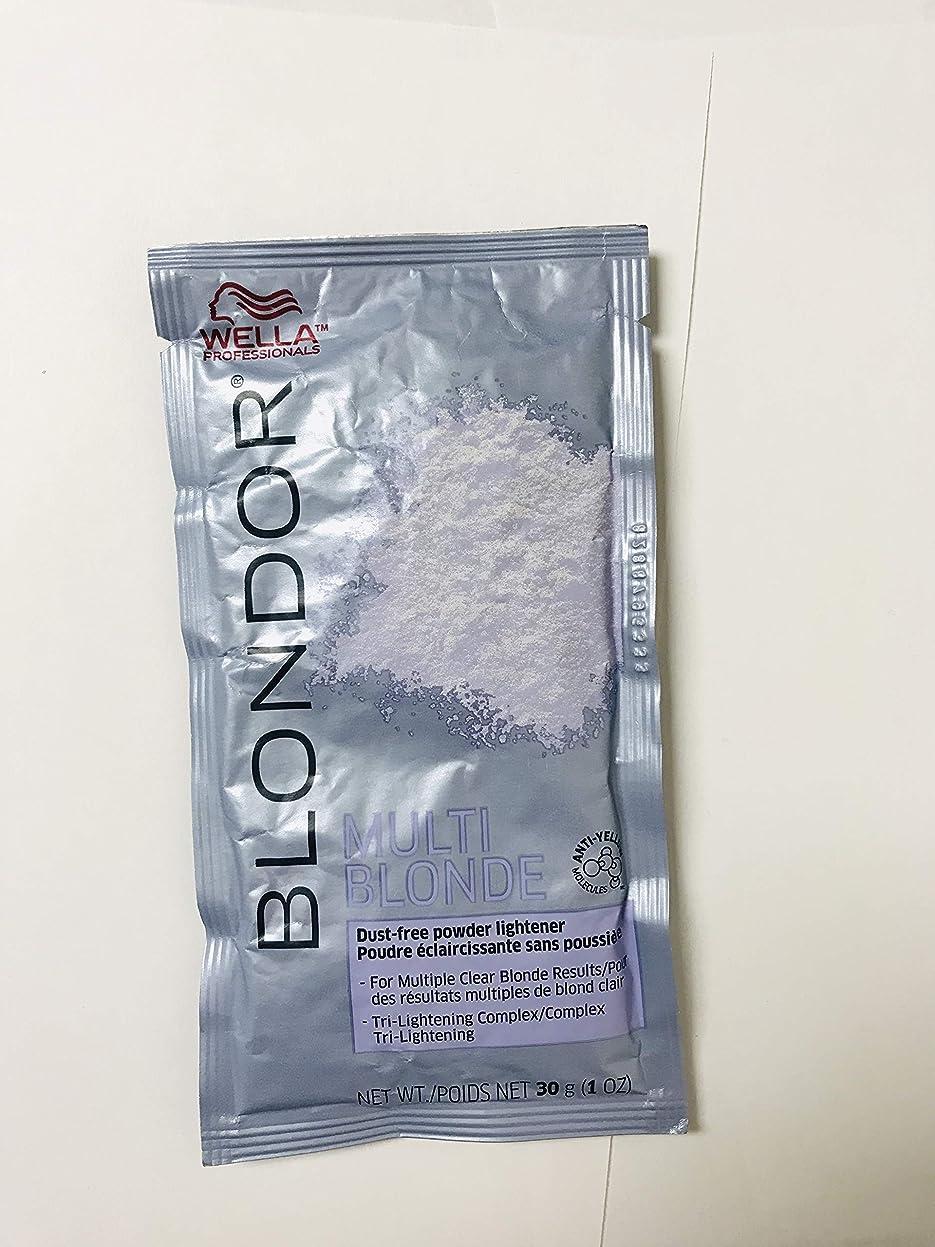 役職埋め込む近代化するWella blondorライトニングパウダー、1オンス