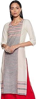Aurelia Women's Cotton Straight Kurta