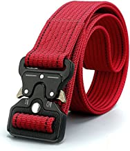 red tactical belt