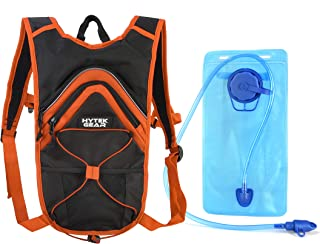 Hytek Gear Hydration Backpack - Water Backpack with 2L Water Bladder - Perfect for Running Cycling Biking Hiking