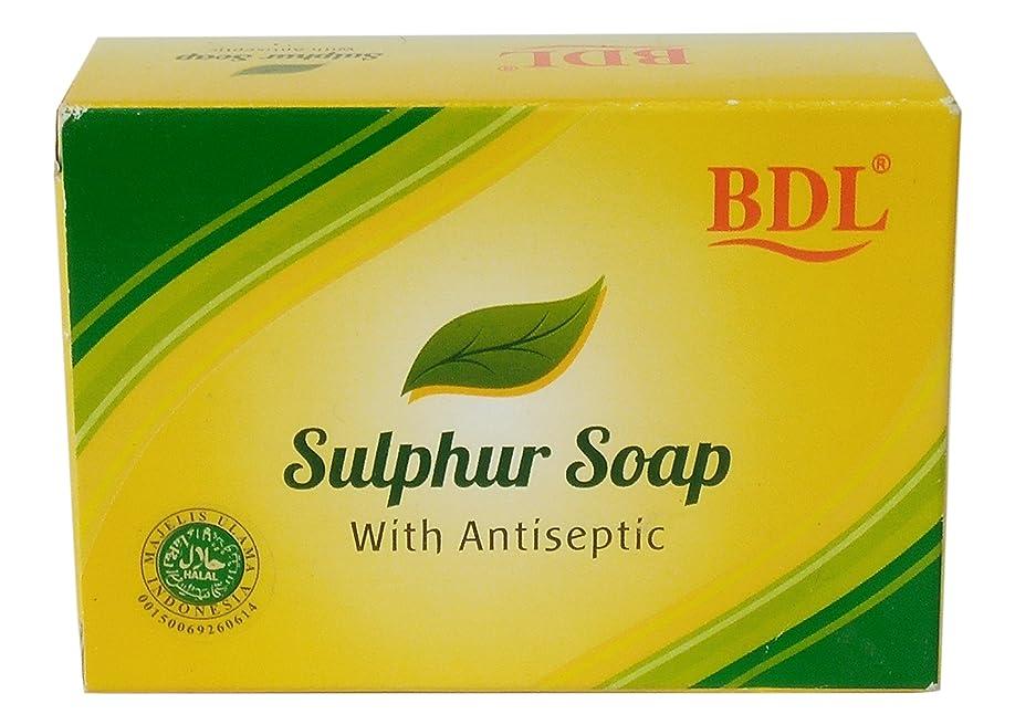 比べるうんざり郊外BDL 防腐剤、100グラムで硫黄固形石鹸