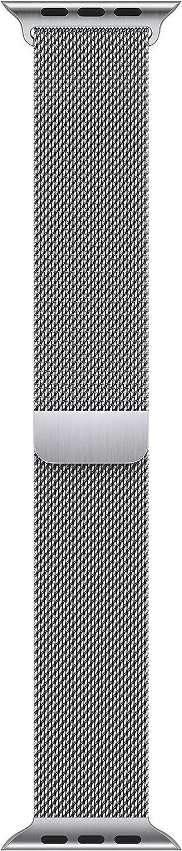Apple Watch Band - Milanese Loop (45mm) - Silver