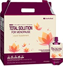Chunho Food Total Solution for Menopause Liquid Supplement. Prepare & Maintain Healthy Lifestyle for Middle-Aged Women. No Preservatives and Artificial Additives. …