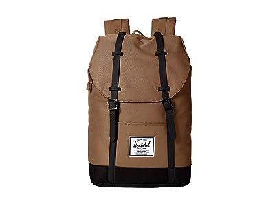 Herschel Supply Co. Retreat (Pine Bark/Black) Backpack Bags