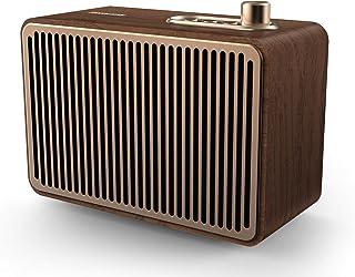 Caixa de som Philips vintage com conexões bluetooth, auxiliar e energia para 10 horas TAVS500/00