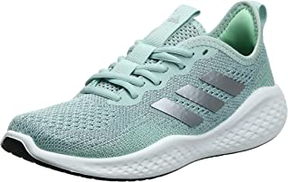 Adidas Fluidflow Contrast Sole Lace-Up Running Shoes for Women