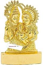 IndianStore4All Shiv PARIVAR Idol Shiv Ganesh Parvati Idol MURTI Statue 2.8 INCHES Approx
