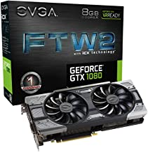 Placa de Video EVGA Geforce GTX 1080 FTW2 Gaming 8GB DDR5X