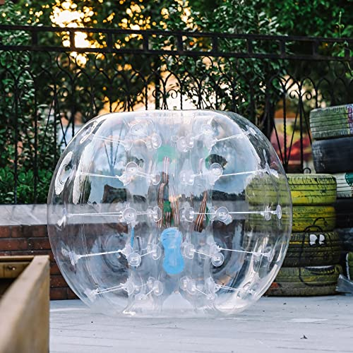 Chrisun Bumper Ball 1,2m Bubble Ball Gonflable Zorb Ball Pour Enfants Et Adultes (1.2M)