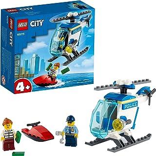 لعبة هليكوبتر شرطة المدينة من ليغو 60275 - مع مجسمات ضابط ولص للاولاد والبنات الذين تزيد اعمارهم عن 4 سنوات