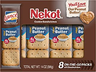 Lance Sandwich Cracker, Nekot, 14 oz