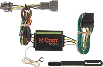 CURT 55362 Vehicle-Side Custom 4-Pin Trailer Wiring Harness for Select Nissan Frontier, Quest, Mercury Villager