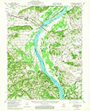 YellowMaps Shawneetown IL topo map, 1:62500 Scale, 15 X 15 Minute, Historical, 1959, Updated 1967, 20.8 x 16.9 in