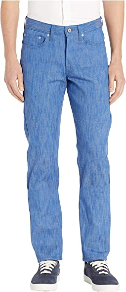 Weird Guy Blue Storm Slub Jeans
