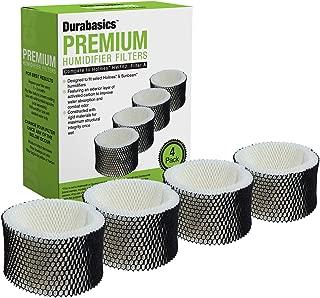 Durabasics 4 Pack Compatible Holmes HWF62 Humidifier Filter, Replacement for Holmes Humidifier Filter HWF62, Holmes A Filter Compatible, Compatible with Humidifier Filters Sunbeam Humidifier Filter A