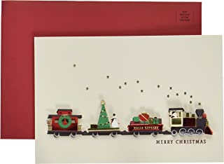 Hallmark Signature Christmas Card (Christmas Train)