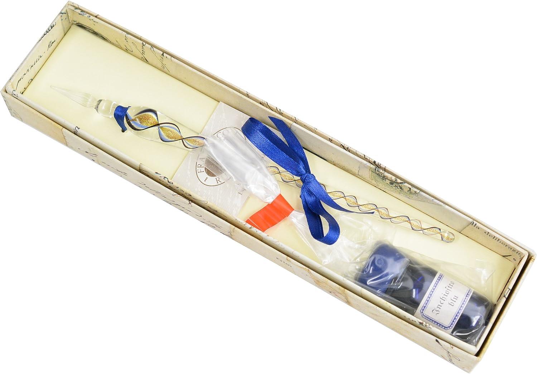 ルビナート ガラスペン インクセット