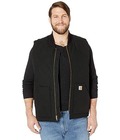Carhartt Big Tall Duck Arctic Vest (Black) Men