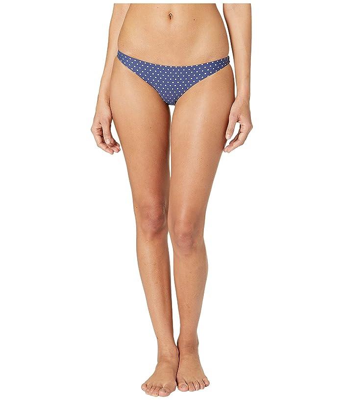 Vitamin A Swimwear Luciana Full Coverage Bottom (Rumba Dots Blue) Women