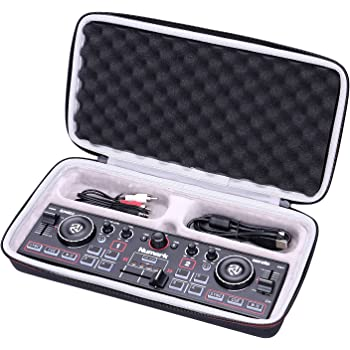 LTGEM EVA Hard Case for Numark DJ2GO2 | Pocket DJ Controller - Travel Protective Carrying Storage Bag