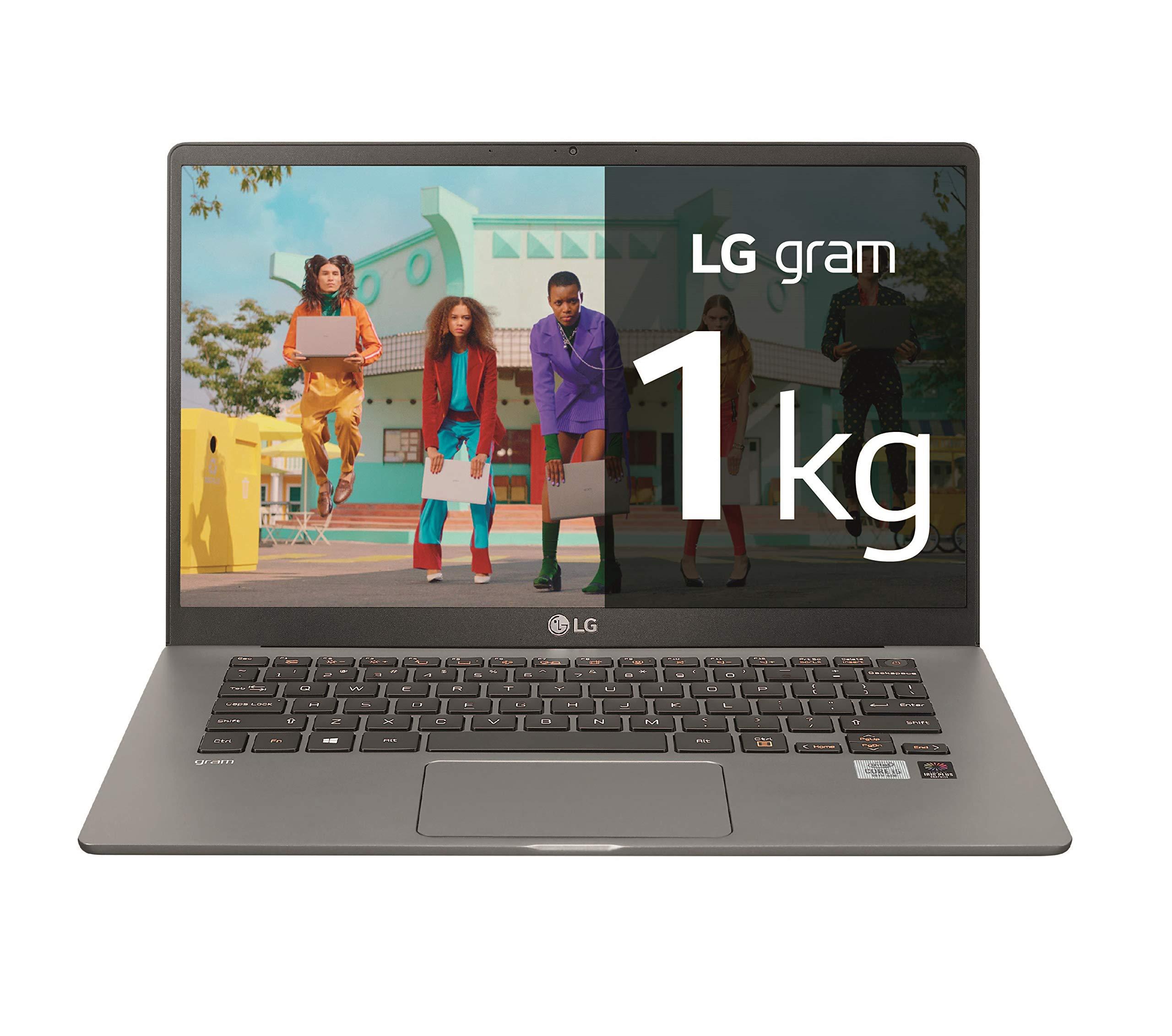 LG gram 14Z90N-V-AR50B - Ordenador portátil ultraligero de 14 ...