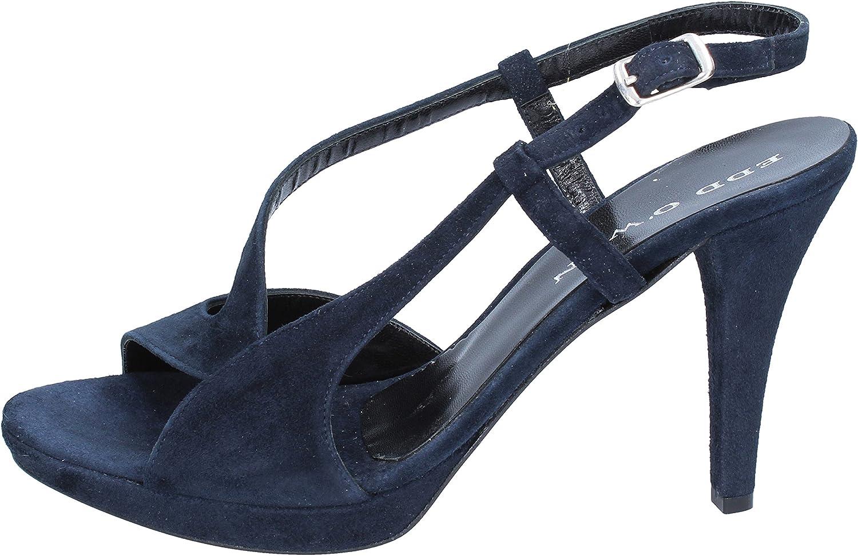 EDD O'WEN Sandals Womens Suede bluee