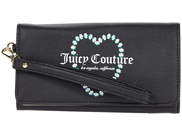 Juicy Couture Oops A Daisy Double ID Flap