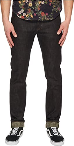 Naked & Famous - Super Skinny Guy Beige Weft Slub Stretch Selvedge Jeans