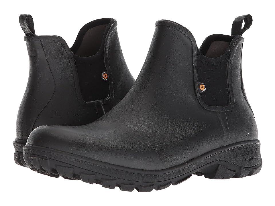 Bogs Sauvie Slip-On Boot (Black) Men