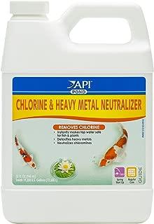 API Pond Chlorine & Heavy Metal Neutralizer Pond Water Neutralizer