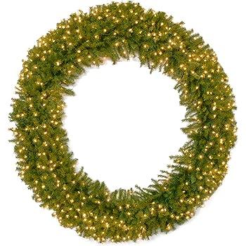 Vickerman 72 Douglas Fir Wreath with 200 Warm White Lights