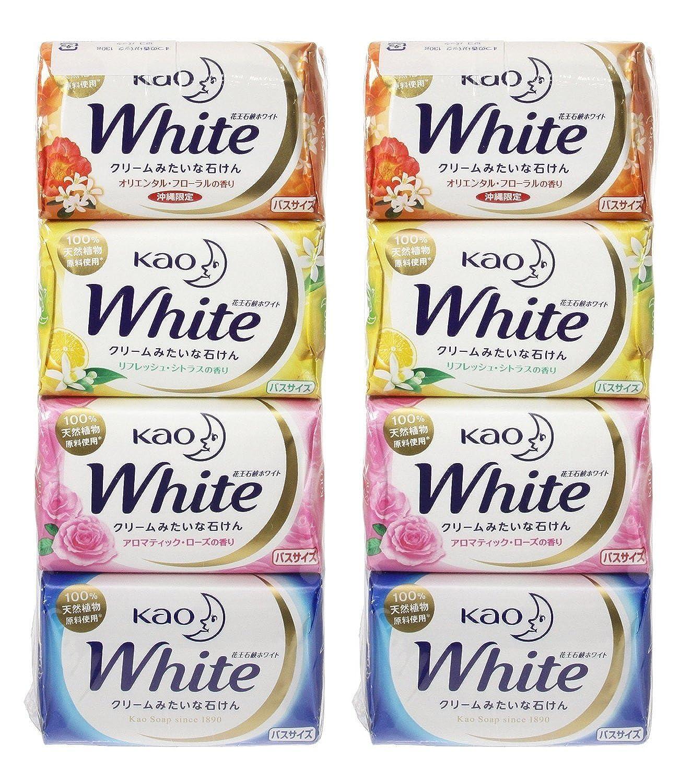 クリア腹カスケード花王ホワイト 香りアソートパック バス12個×2