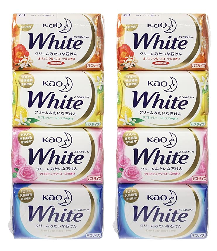 気配りのあるバッテリースイング花王ホワイト 香りアソートパック バス12個×2