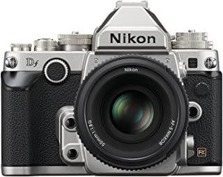 Nikon 1528 DF 16.2 MP CMOS FX-Format Digital SLR Camera (Black) with AF-S Nikkor 50mm f/1.8G Lens, 4GB Card and Camera Bag