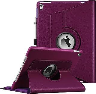جراب Fintie لجهاز iPad Pro 9.7-360 درجة مع غطاء واقٍ بحامل ذكي بخاصية السكون/الاستيقاظ التلقائي لجهاز iPad Pro 9.7 بوصات (...